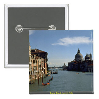 Grand Canal, Venice, Italy Pinback Button