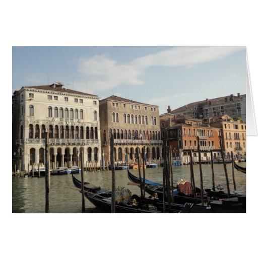 Grand Canal Venice Italy Card