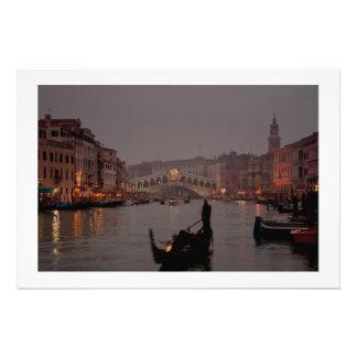 Grand Canal, Venice – Italy Photo Print