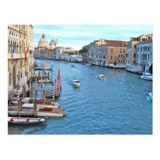 Grand Canal - Venice Italy Postcard