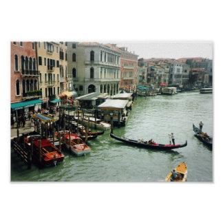 Grand canal Venice Posters