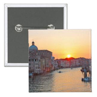 Grand canal Venice - sunrise Button