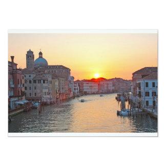 Grand canal Venice - sunrise Announcement