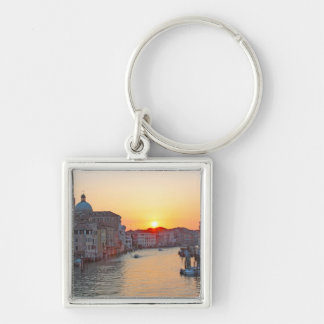 Grand canal Venice - sunrise Keychain