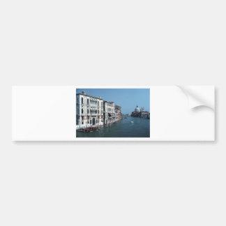 Grand Canal Venice Tom Wurl.jpg Car Bumper Sticker