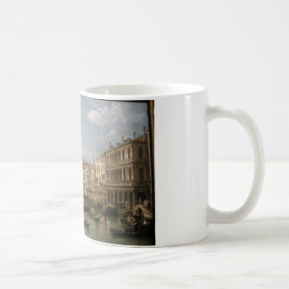 Grand canal, view from north by Bernardo Bellotto Coffee Mug