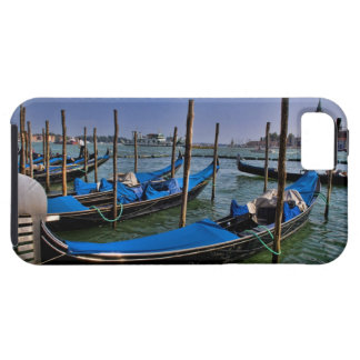 Grand Canal water with gondalo boats lined up iPhone SE/5/5s Case