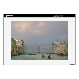 Grand Canal with Snow and Ice, 1849 Decals For Laptops