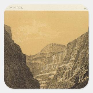 Grand Canon, Colorado River Square Sticker