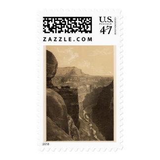 Grand Canon near Kanab Wash Stamp