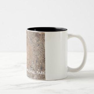 GRAND CANYON- 2000 Million Years Ago Two-Tone Coffee Mug