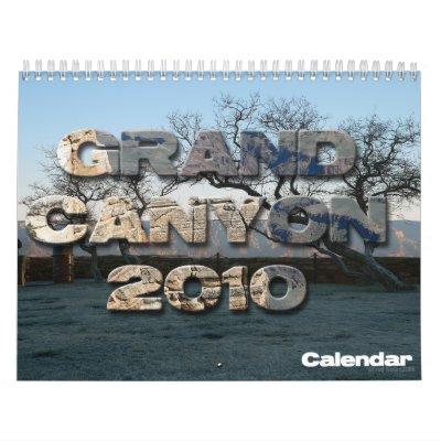 Grand Canyon 2010 Calendar