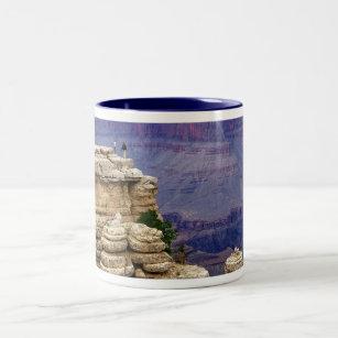 'Grand Canyon 3' Two-Tone Coffee Mug