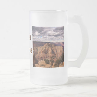 Grand Canyon 5494 Frosted Glass Beer Mug