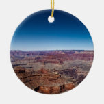 Grand Canyon 5 Double-Sided Ceramic Round Christmas Ornament