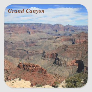 Grand Canyon 5 Square Sticker