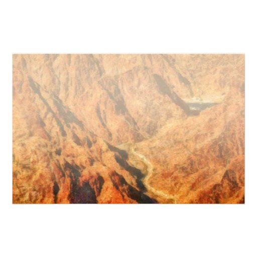 Grand Canyon - A look into the Abyss Customized Stationery