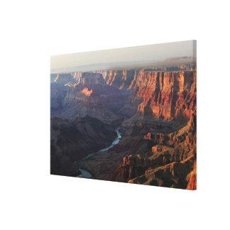 Grand Canyon and Colorado River in Arizona Canvas Print