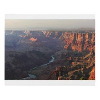 Grand Canyon and Colorado River in Arizona Panel Wall Art