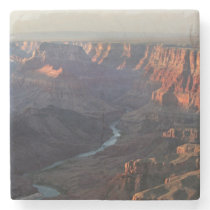 Grand Canyon and Colorado River in Arizona Stone Coaster