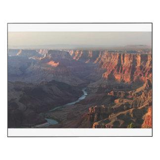 Grand Canyon and Colorado River in Arizona Wood Wall Art