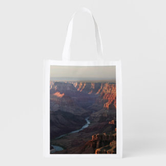 Grand Canyon and Colorado River in Arizona Grocery Bags