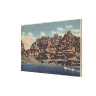 Grand Canyon, Arizona - Boulder Dam Area Canvas Print