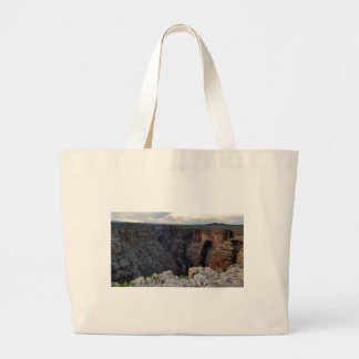 Grand Canyon Arizona Looking into the Abyss Large Tote Bag