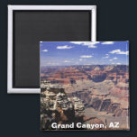 """Grand Canyon, Arizona Magnet<br><div class=""""desc"""">The Grand Canyon is 277 miles (446 km) long, up to 18 miles (29 km) wide and attains a depth of over a mile (6, 000 feet / 1, 800 meters). Nearly two billion years of the Earth&#39;s geological history have been exposed as the Colorado River and its tributaries cut...</div>"""