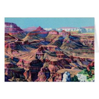 Grand Canyon Arizona Moran Point Card