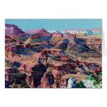 Grand Canyon Arizona Moran Point Greeting Card