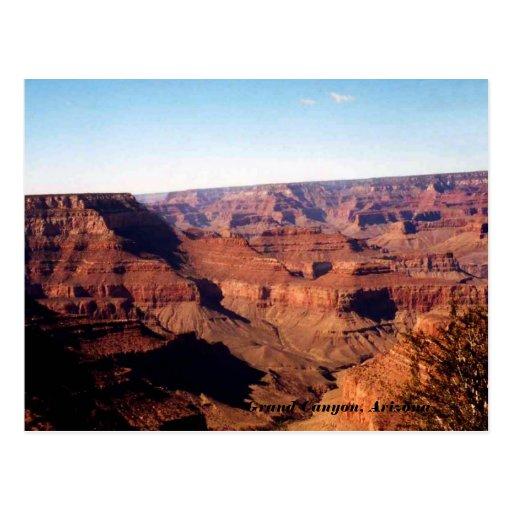 Grand Canyon, Arizona Post Card