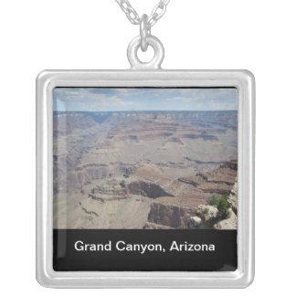 Grand Canyon, Arizona Square Pendant Necklace