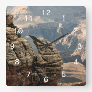 Grand Canyon, Arizona Square Wall Clock