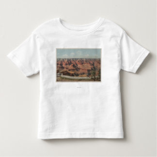 Grand Canyon, Arizona - View of Canyon from Hote Toddler T-shirt