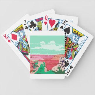 Grand Canyon Arizona WPA Bicycle Playing Cards