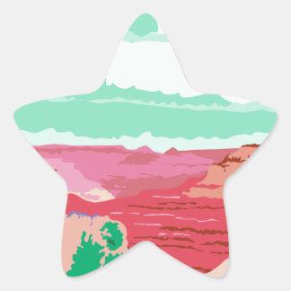 Grand Canyon Arizona WPA Star Sticker