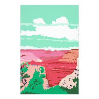Grand Canyon Arizona WPA Stationery