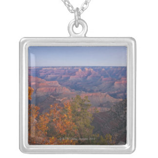 Grand Canyon at sunrise, Arizona Silver Plated Necklace