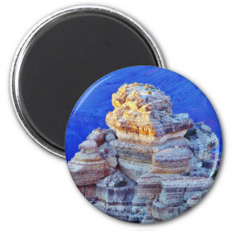 Grand Canyon At Sunset 2 Inch Round Magnet