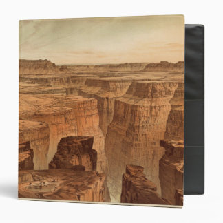 Grand Canyon at the foot of the Toroweap 3 Ring Binder