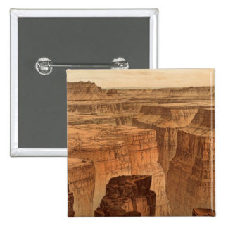 Grand Canyon at the foot of the Toroweap Pinback Button