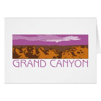 Grand Canyon Banner Greeting Card
