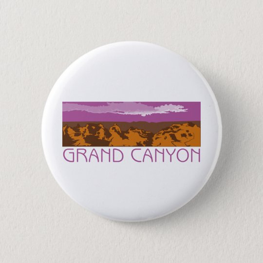 Grand Canyon Banner Pinback Button
