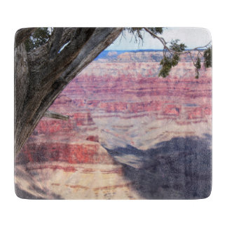 Grand Canyon Beyond The Tree Cutting Board