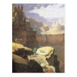 Grand Canyon by Leigh, Vintage American West Art Post Cards