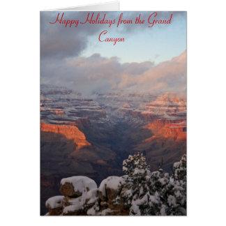 Grand Canyon Christmas Card
