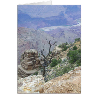 Grand Canyon Cliff's Edge Greeting Card