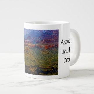 Grand Canyon Cliffs Jumbo Mug