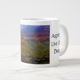 Grand Canyon Cliffs Jumbo Mug 20 Oz Large Ceramic Coffee Mug
